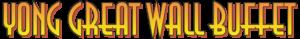 Yong Great Wall Buffet Logo